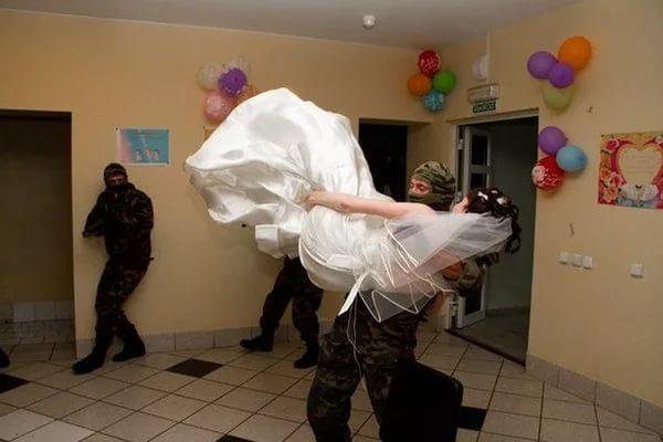 Конкурс выкупа невесты украли невесту